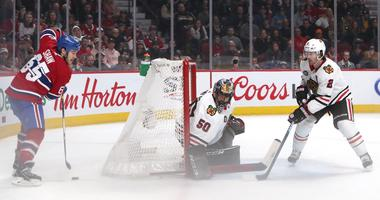 Crawford Shuts Out Canadiens