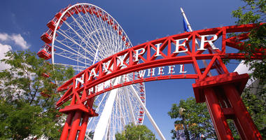 Navy Pier Offers Veterans, Active Duty Military Free Ferris Wheel Rides On Monday