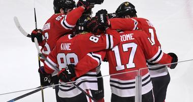 Kane Hat Trick Pushes Blackhawks Past Wild