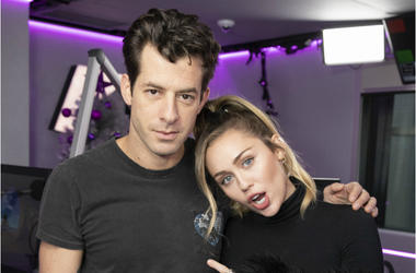 Miley Cyrus and Mark Ronson