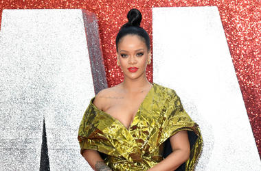 Rihanna attending the European premiere of Oceans 8, held at the Cineworld in Leicester Square, London