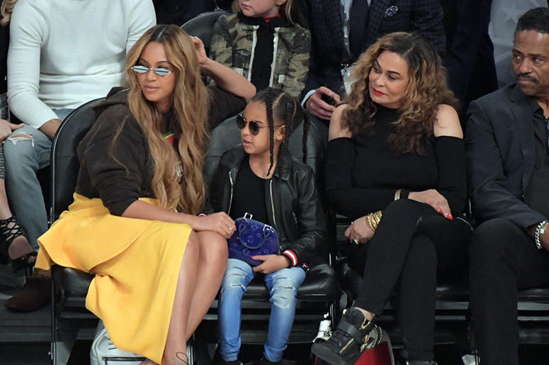 14666cd1353f Blue Ivy Carter was the True Star of the NBA All Star Game