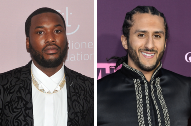 """Musician Meek Mill attends Rihanna's 4th Annual Diamond Ball at Cipriani Wall Street in New York, NY on September 13, 2018. /  Colin Kaepernick. VH1's 3rd Annual """"Dear Mama: A Love Letter to Moms"""" held at The Theatre at ACE Hotel."""