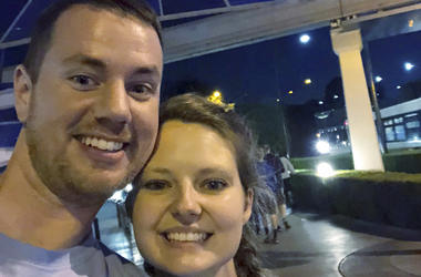 Couple visits Disney parks on two coasts in one day