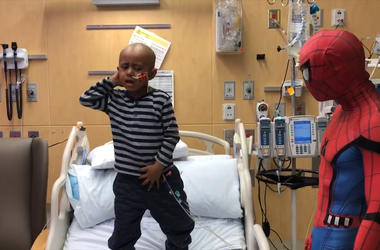 Five-Year-Old Dances His Way Through Cancer Treatment