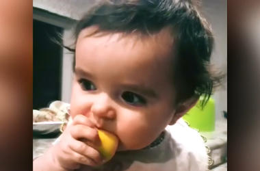 Nora Eats A Lemon