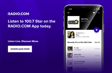 Download the Radio.com App and Listen to 100.7 Star Anytime, Anywhere