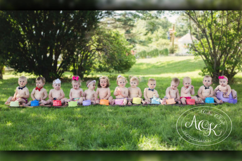 15 Babies Take Part In Epic 'Cake Smash' Photo: What Could Go Wrong?