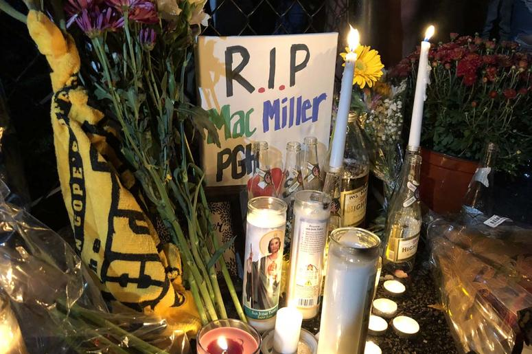 Mac Miller Vigil at Blue Slide Park in Pittsburgh