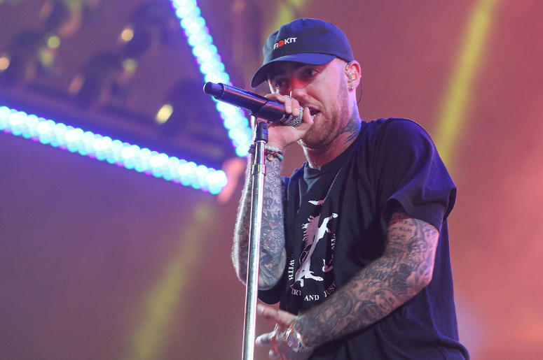 Apr 21, 2017; Indio, CA, USA; Mac Miller performs during the Coachella Valley Music and Arts Festival at Empire Polo Club.