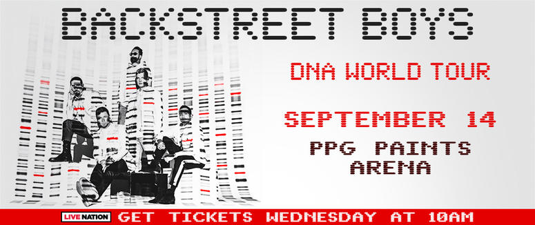 Backstreet Boys DNA World Tour Pittsburgh Concert