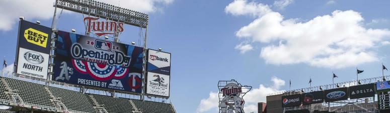 Twins Announce Opening Day Plans