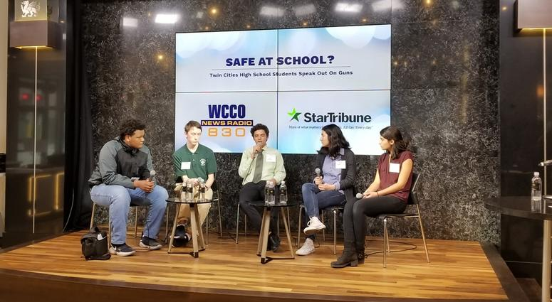 """""""Safe At School: Twin Cities High School Students Speak Out On Guns"""""""