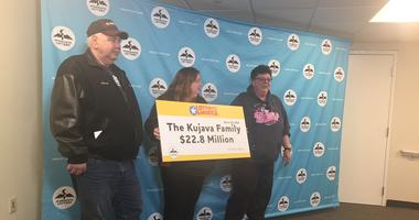 Brother And Sister Split $22 Million In Lotto Winnings