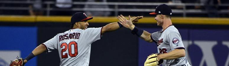 Rosario Carries Twins To 8-4 Win Over White Sox