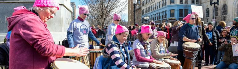 Minnesota Women's March Leader, 'We are dedicated to make our spaces inclusive and safe.'