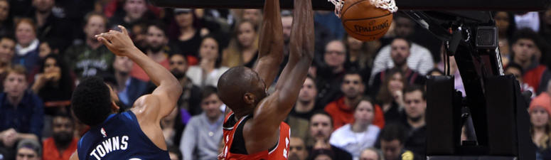 Leonard scores 35, Raptors beat Wolves 112-105 to reach 5-0