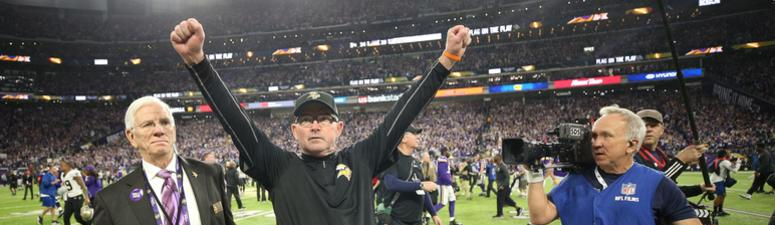 Vikings' Zimmer on new NFL anthem policy: 'A lot of people have died for that flag.'