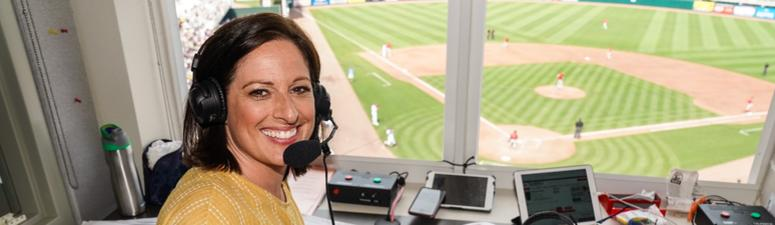 Marney Gellner on making history as the first woman to do play-by-play for a Twins game
