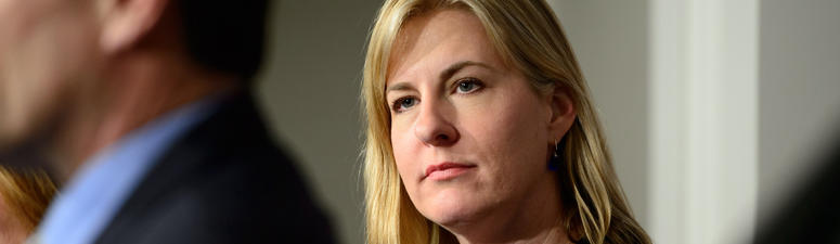 Melissa Hortman: 'Neither one of us see it as a win-lose thing.'
