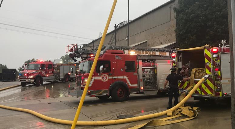 Two injured in a Minneapolis explosion at Metal-Matic