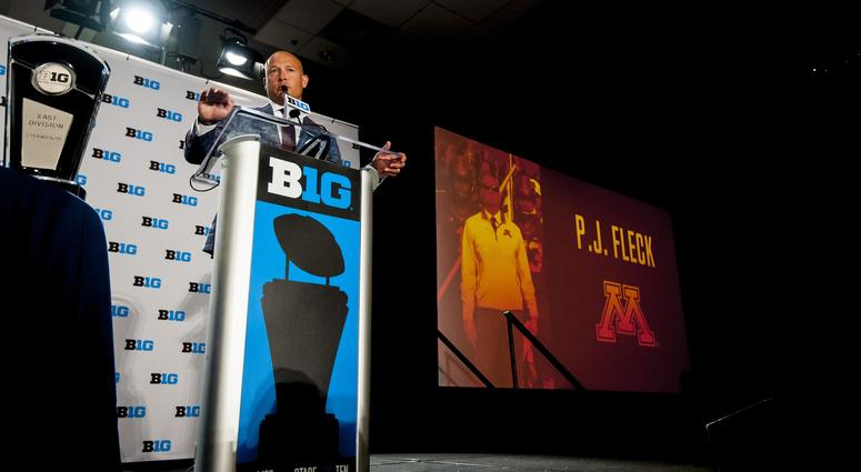 PJ Fleck talks Gopher football