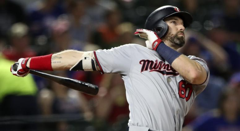Twins outfielder Jake Cave