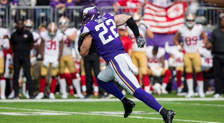 Harrison Smith of the Vikings