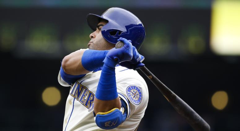 Nelson Cruz swings