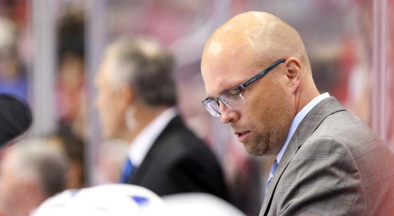 Former Wild and Blues coach Mike Yeo