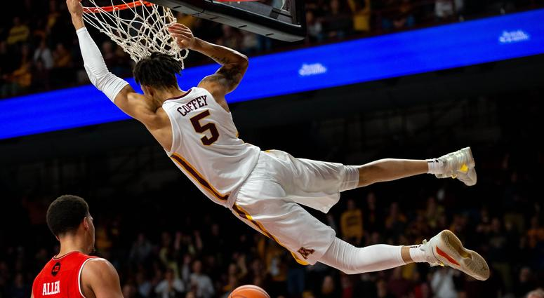 Amir Coffey of the Gophers
