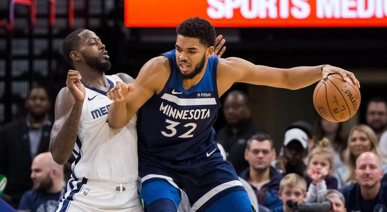 Towns makes his move