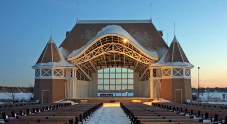Bandshell at Lake Harriet