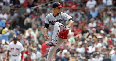 Jose Berrios makes a pitch