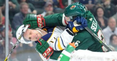 Wild fall to Sabres