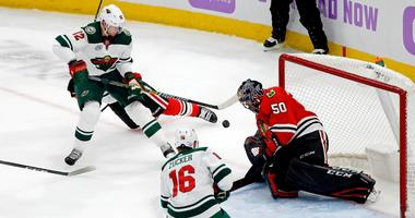 Wild fall short in Chicago