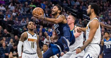 Timberwolves fall to Nuggets
