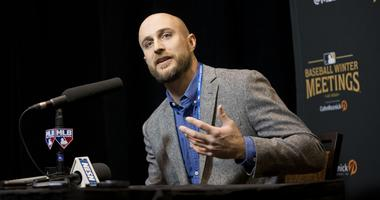 Rocco Baldelli at the winter meetings