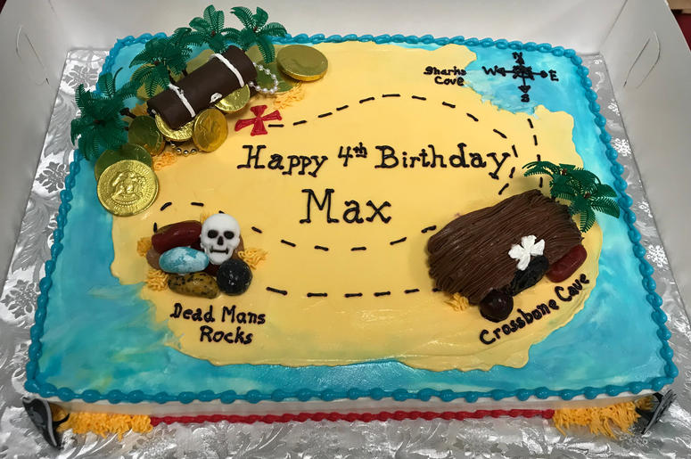 Jen Toohey And Her Family Celebrate Max's Fourth Birthday With A Pirate Themed Party