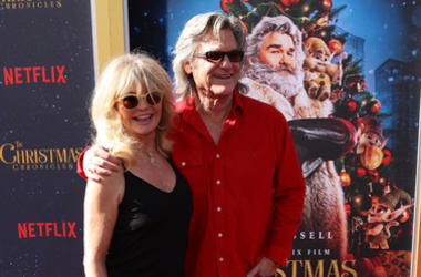 urt Russell attend the Los Angeles Premiere 'The Christmas Chronicles' held at Regency Bruin Theatre on November 18, 2018 in Los Angeles, California,