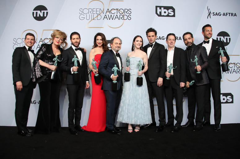 The cast of The Marvelous Mrs. Maisel