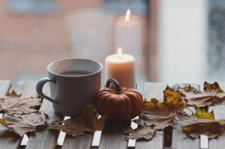 AUTUMN CANDLE DECORATION - Other & Entertainment ... |Fall Candles Background