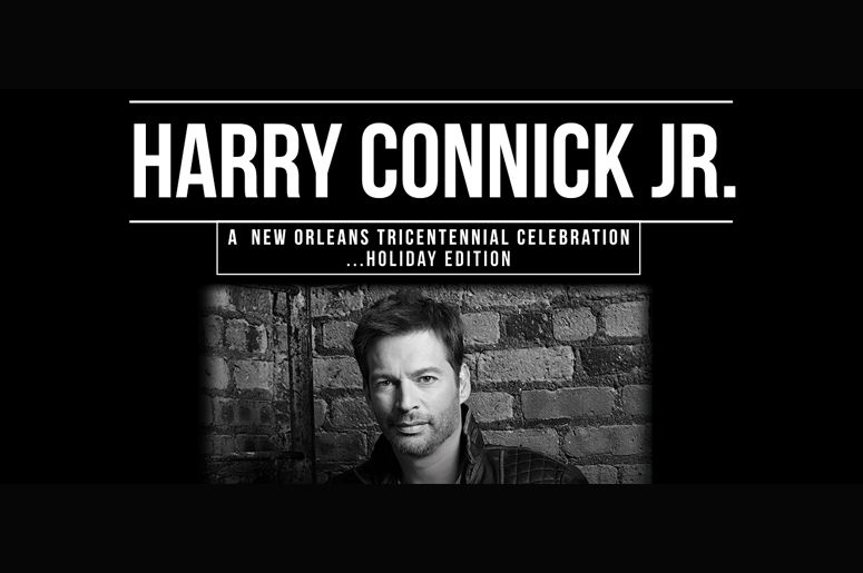 enter for your chance to win harry connick jr tickets - Christmas Black And White