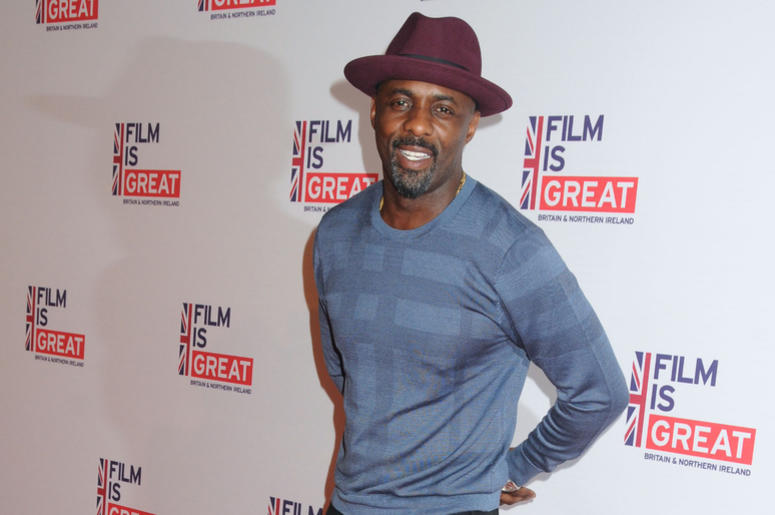 West Hollywood, California - Idris Elba. The Film is GREAT Reception Honoring British Nominees of the 88th Annual Academy Awards held at Fig & Olive.