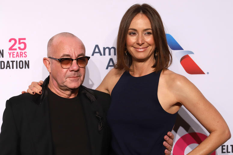 Bernie Taupin attends the 17th Annual An Enduring Vision gala at Cipriani in New York
