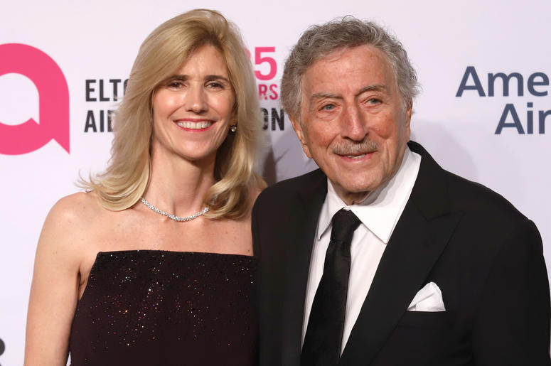usan Benedetto and Tony Bennett attend the 17th Annual An Enduring Vision gala at Cipriani in New York.