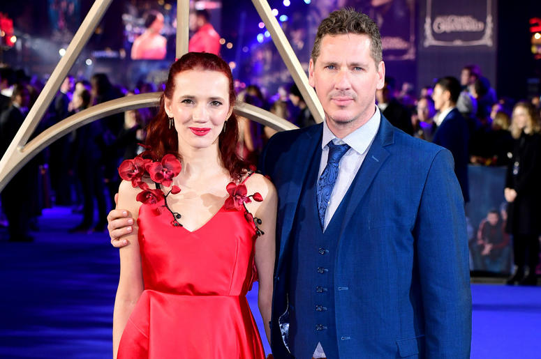 Maja Bloom (left) attending the Fantastic Beasts: The Crimes of Grindelwald UK premiere held at Leicester Square, London.
