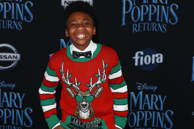 Christian Simon at the Disney's 'Mary Poppins Returns' Los Angeles Premiere held at the Dolby Theatre on November 29, 2018 in Hollywood, CA, USA