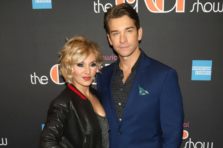 "Orfeh and Andy Karl attend the opening night of ""The Cher Show"" on Broadway at the Neil Simon Theatre in New York."