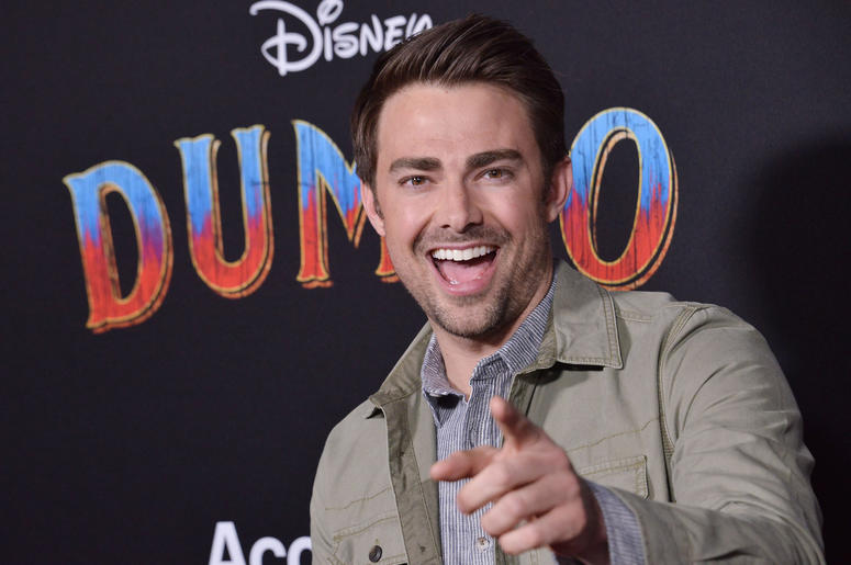 """Jonathan Bennett arrives at Disney's """"Dumbo"""" Los Angeles Premiere held at the El Capitan Theatre in Hollywood, CA on Monday, March 11, 2019."""